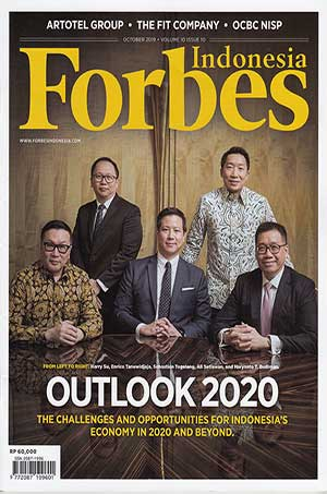 FORBES INDONESIA OCTOBER 2019 : OUTLOOK 2020